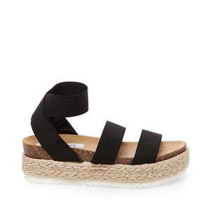 Steve Madden Kimmie Black Sandal